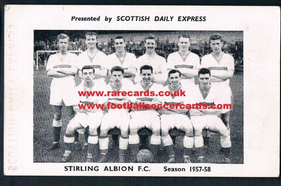 1957 Scots Daily Express Stirling